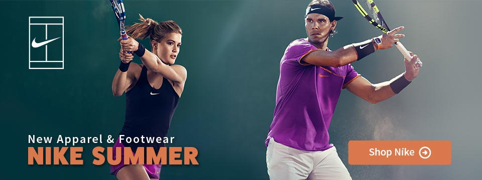 New Nike Summer Tennis Apparel and Shoes