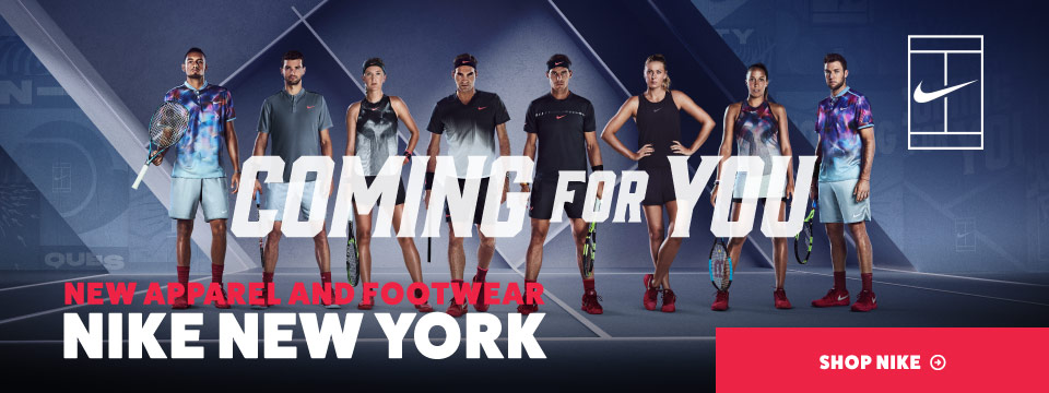 New Fall 2017 Nike Tennis Apparel and Shoes