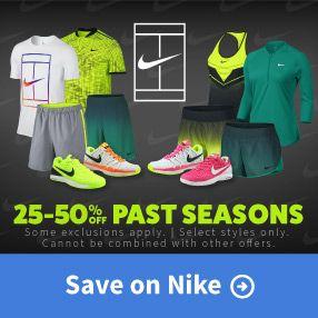 Save on Nike Past Seasons