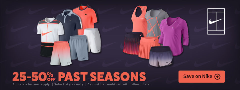 Nike Sale Tennis Apparel and Footwear