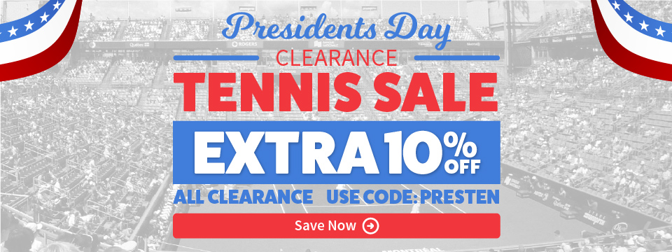 Extra 10% Off Tennis Sale