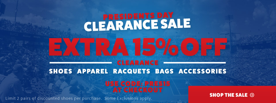 Extra 15% off clearance
