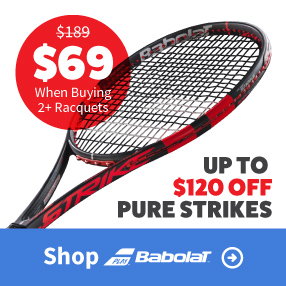 Babolat Pure Strike Tennis Racquet Sale