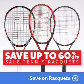 Save on Clearance Tennis Racquets