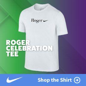 Roger Federer Limited Editon T Shirt