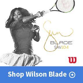 New Wilson Blade Serena Williams Racquets