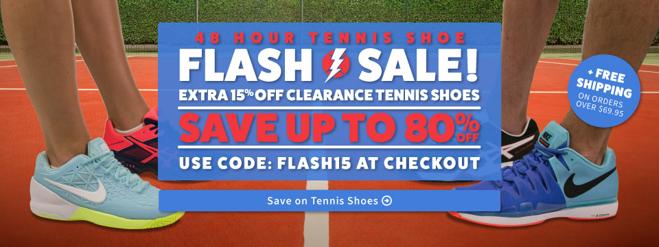 Flash Tennis Shoe Sale