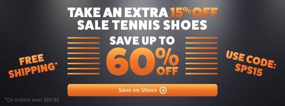 Spring Tennis Shoe Sale