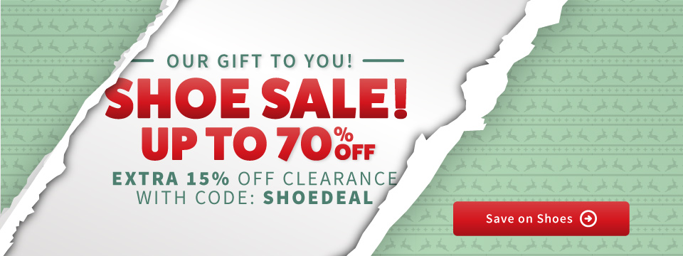 Save an Extra 15% Off Sale Shoes