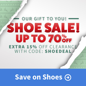December Shoe Sale Save up to 70% Off