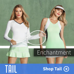 Tail Wisteria Mist Womens Tennis Apparel