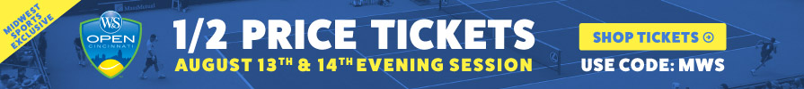 Half Price Western and Southern Open Tickets