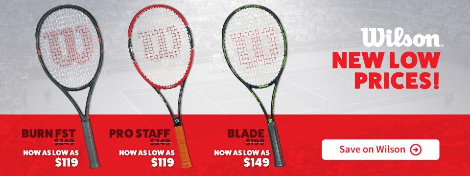 Save On Wilson Tennis Racquets