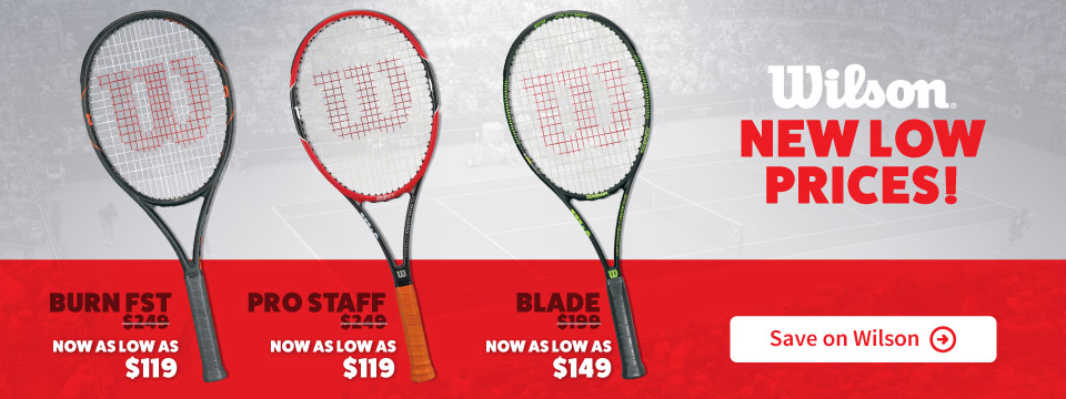 Save On Wilson Tennis Racquets