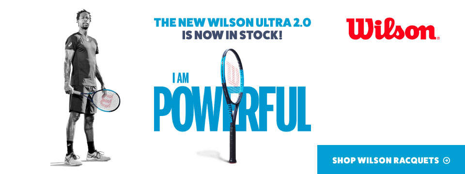 New Wilson Ultra Tennis Racquets