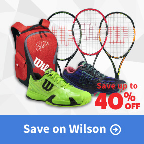 Wilson Sale Apparel, Footwear, Racquets, and Bags