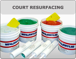 Tennis Court Resurfacing Supplies