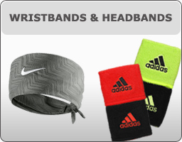 Tennis Wristbands & Headbands