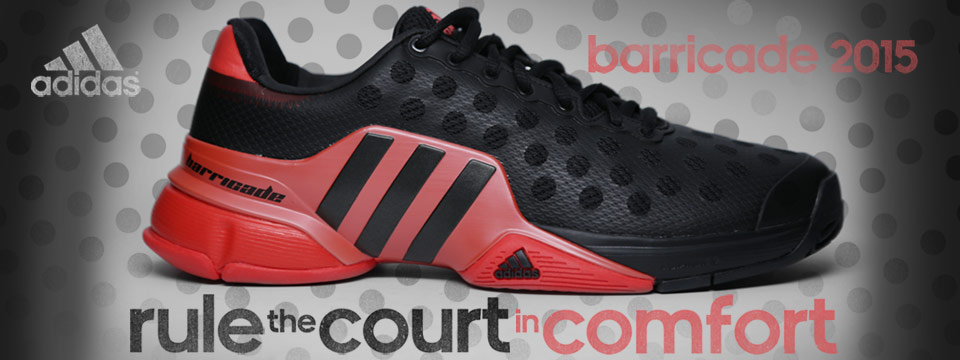 New adidas Barricade 2015 shoe