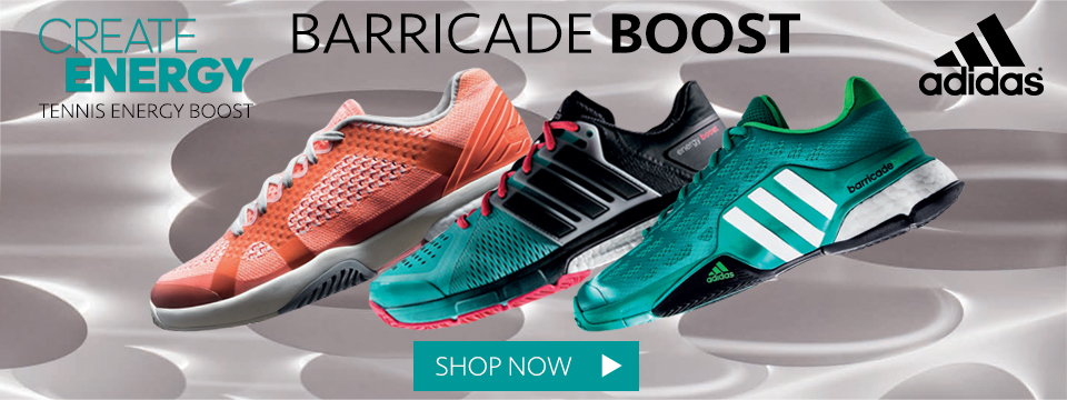 New adidas Barricade Boost