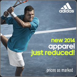 Shop New adidas Spring 2014 tennis apparel and Barricade 8 shoes!