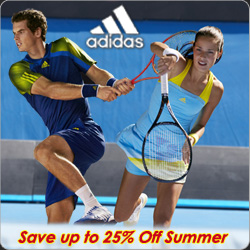 Shop Adidas Tennis Apparel, Shoes, and Accessories for Spring 2013