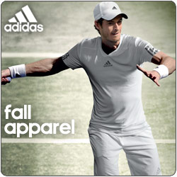 Shop New Spring 2014 adidas Tennis Apparel and Footwear