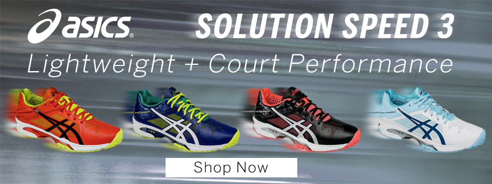 Shop Asics Solution Speed 3 and More