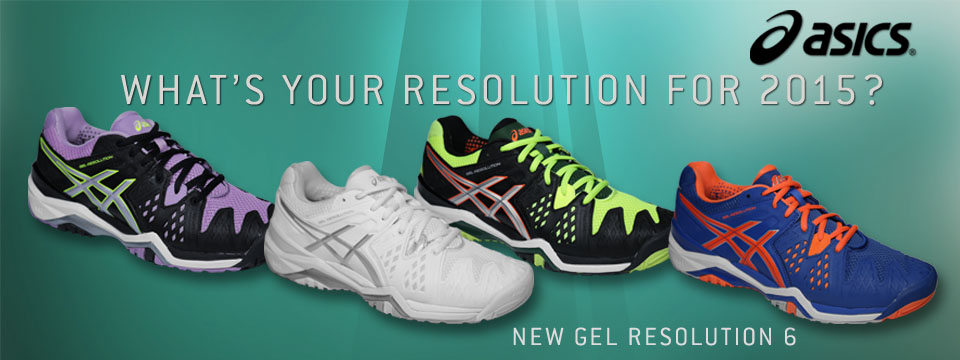 New and Sale Asics Footwear including Solution Speed