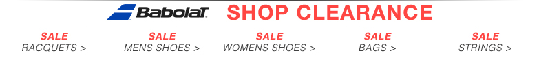 Sale Babolat Footwear and Equipment
