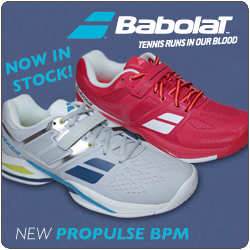 New Babolat Propulse Shoes and Pure Drive Racquets Now In Stock