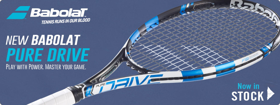 New Babolat Pure Drive Tennis Racquet