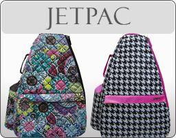 Jet Pac Tennis Bags
