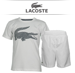 Boys LacosteTennis Apparel