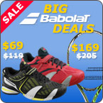 Big Babolat deals on Propulse shoes