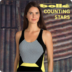 Shop Bolle Counting Stars and other women's tennis apparel for Summer 2014