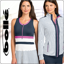Shop Bolle High Voltage and other women's tennis apparel for Summer 2014