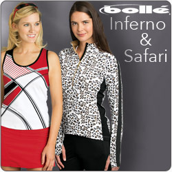 Shop Bolle Inferno and other women's tennis apparel for Summer 2014