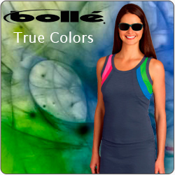 Shop Bolle True Colors and other women's tennis apparel for Summer 2014