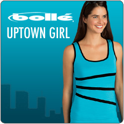 Shop Bolle Uptown Girl and other women's tennis apparel for Summer 2014