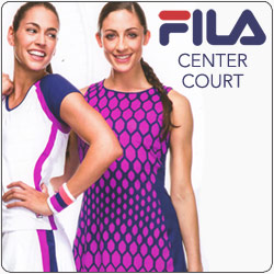 Shop Fila Women's Center Court Tennis apparel