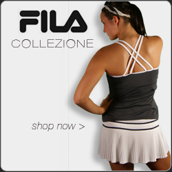 Shop Fila tennis apparel for Summer 2013