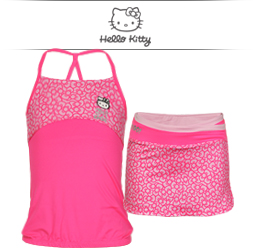 Girls Hello Kitty Tennis Apparel