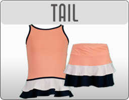 Girls Tail Tennis Apparel