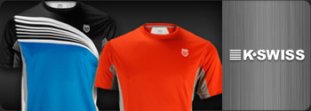 K-Swiss Mens Tennis Apparel