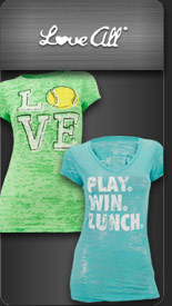 Love All Women's Tennis Apparel
