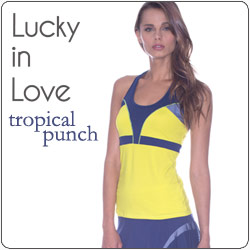 Shop Lucky in Love New Women's tennis apparel fall 14 line