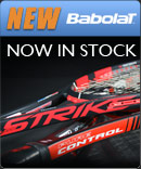 New Babolat Pure Strike and Pure Control Tennis Racquets