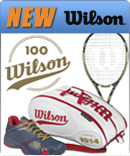 New Wilson 100 Years celebration racquets, clothes, and shoes!