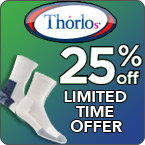 Thorlo 25% Off